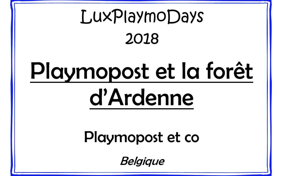 Playmopost et la forêt d'Ardenne