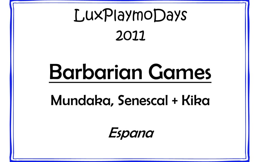 Barbarian games
