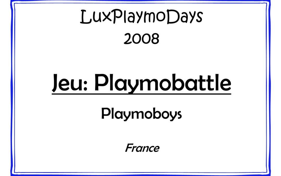 Jeu Playmobattle