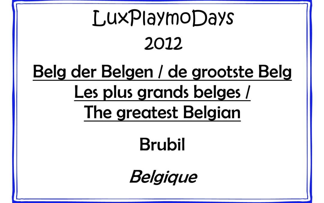 Les plus grands belges