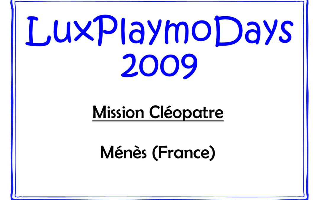 Mission Cléopatre