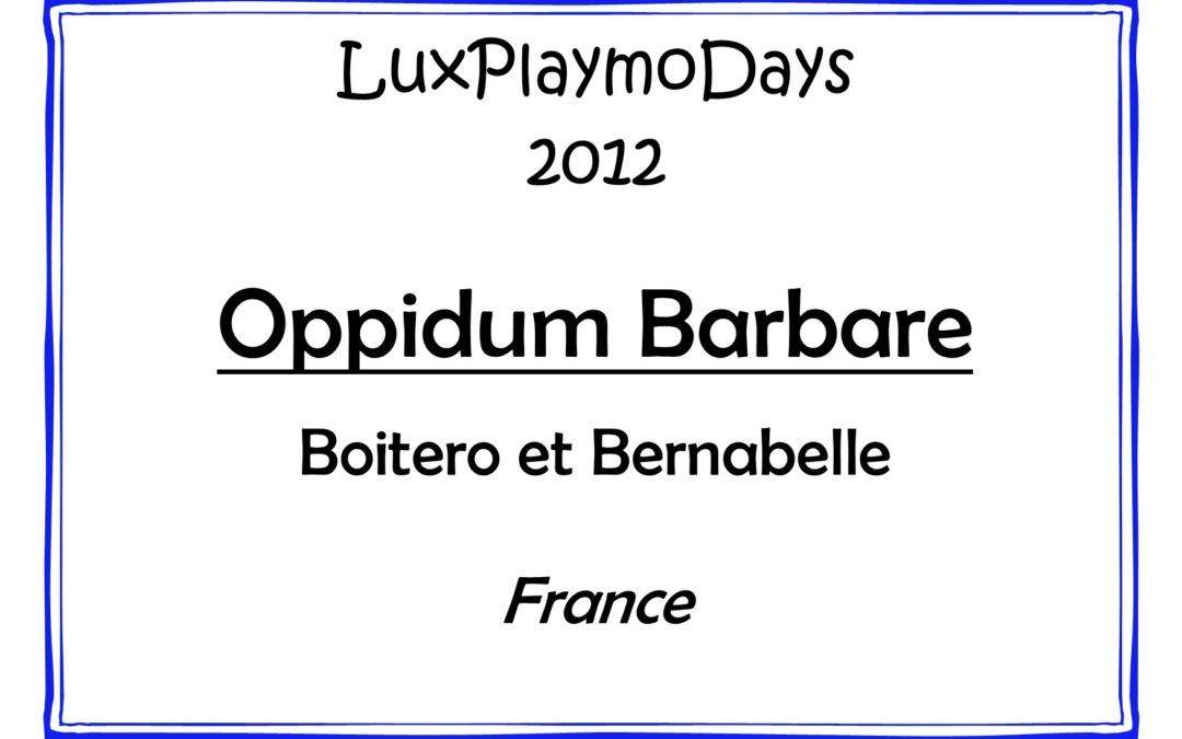 Oppidum Barbare