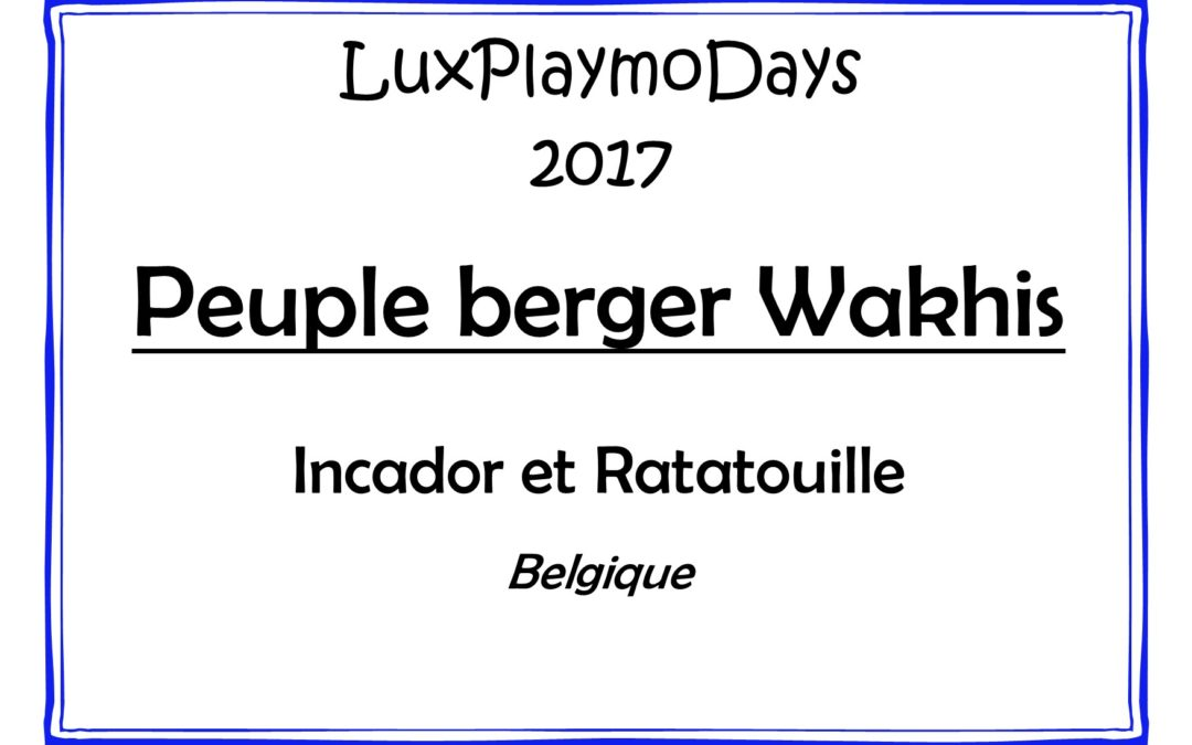 Peuple berger Wakhis