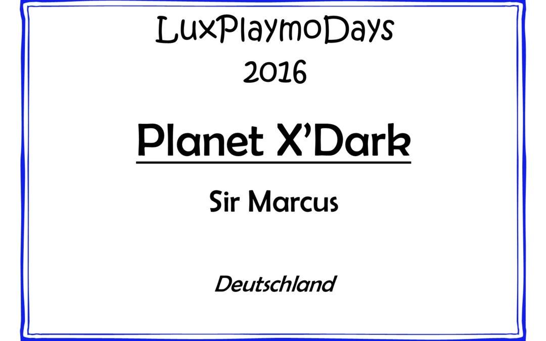 Planet X'Dark