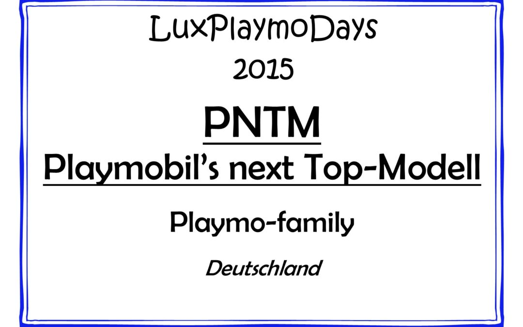 Playmobil's next Top-Modell