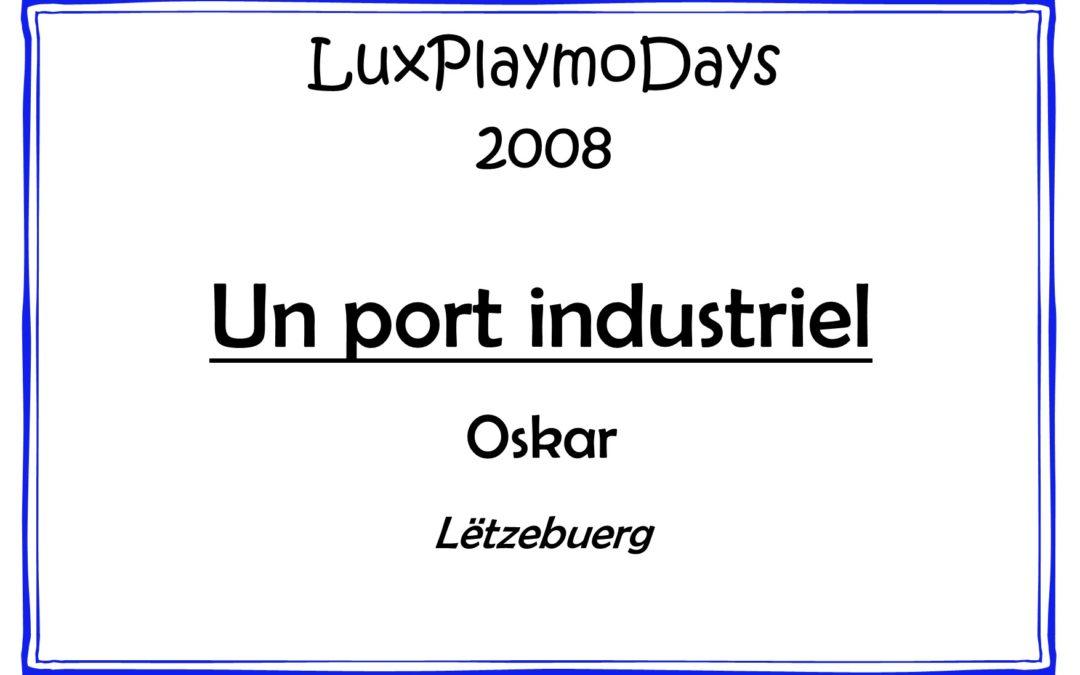 Un port industriel