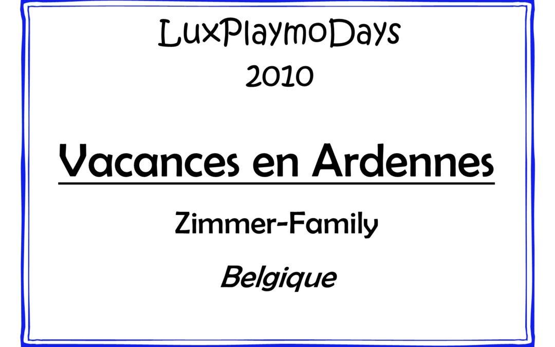Vacances en Ardennes